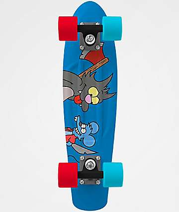 "Penny x The Simpsons Itchy & Scratchy 22"" Cruiser Complete Skateboard"