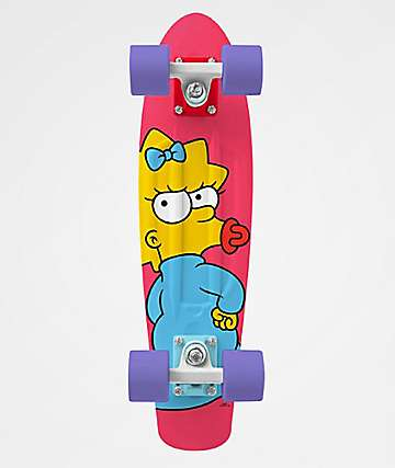 "Penny x The Simpsons Maggie 22"" Cruiser Complete Skateboard"