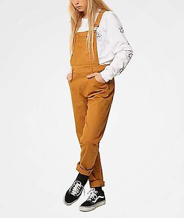 Plenty Humanwear Weekender Camel Overalls