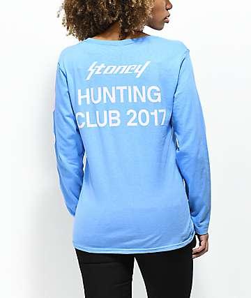 Post Malone Stoney Hunt Club Lilac & Purple Long Sleeve T-Shirt