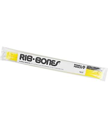 Powell Peralta Rib Bones Yellow Skateboard Rails