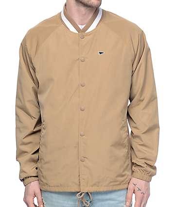 Primitive Camden Camel Coaches Jacket