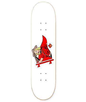 "Primitive Canada D'Eh Mountie 8.0"" Skateboard Deck"