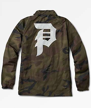 Primitive Dirty P Camo Coaches Jacket