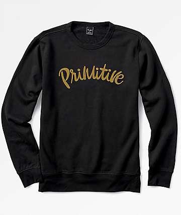 Primitive Dusty Black Crewneck Sweatshirt