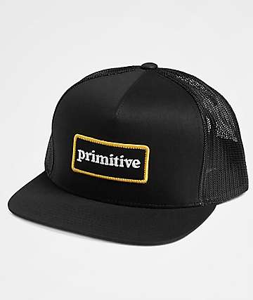 Primitive Good For Life Black Trucker Hat