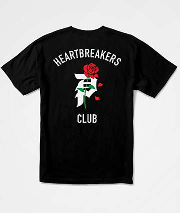 Primitive Heartbreakers Black T-Shirt