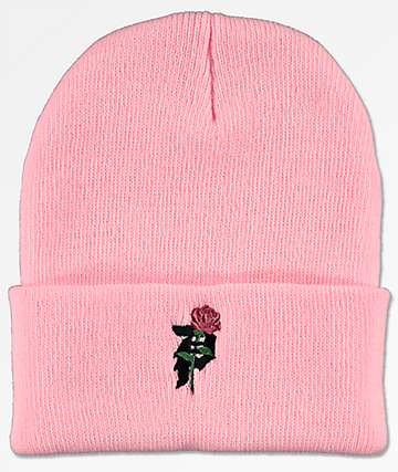 Primitive Heartbreakers Pink Beanie