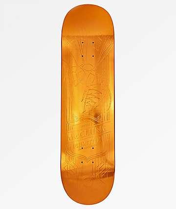 """Primitive McClung Hornet Amber Foil 8.12"""" Skateboard Deck"""