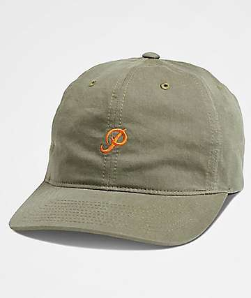 Primitive Mini Classic P Olive Dad Hat