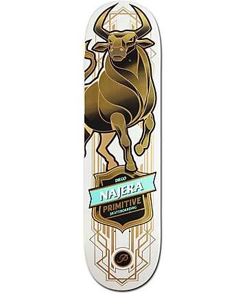 """Primitive Najera Bull 8.25"""" Skateboard Deck"""