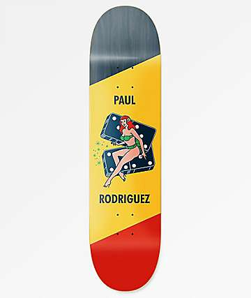"Primitive Rodriguez Pin Up 8.0"" Skateboard Deck"