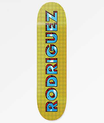 "Primitive Rodriguez Pop Art 8.1"" Skateboard Deck"