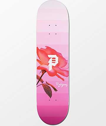 """Primitive Rodriguez Rose Out 8.1"""" Skateboard Deck"""