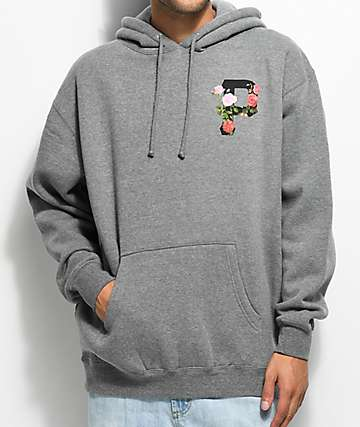 Primitive Slab Rose Grey Hoodie