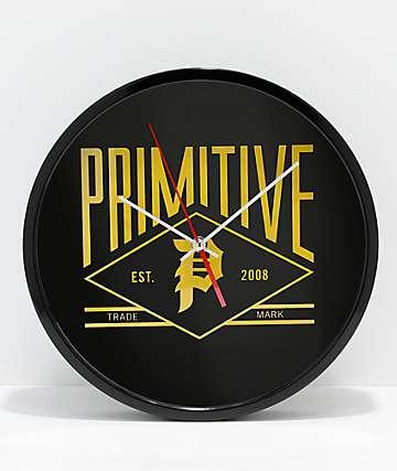 Primitive Slugger Wall Clock