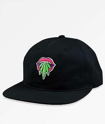 Primitive Taste Buds Black Unstructured Snapback Hat
