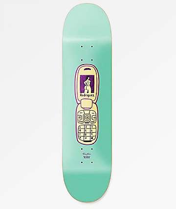"""Primitive x Gangster Doodles Rodriguez Flip Phone 8.25"""" Skateboard Deck"""