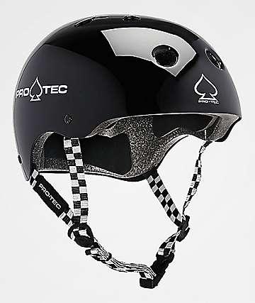 Pro-Tec Classic Black & Checker Skate Helmet
