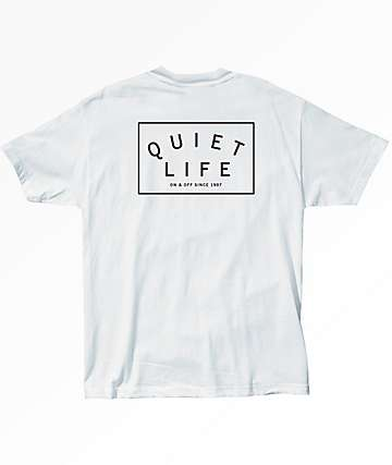 Quiet Life Standard White T-Shirt