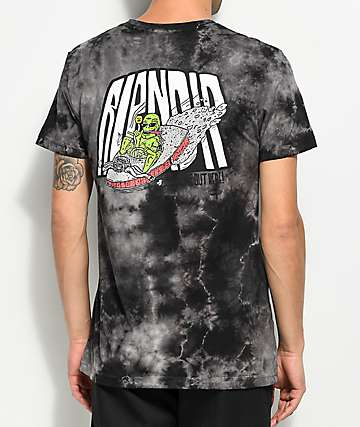 RIPNDIP Alien Fink Black Tie Dye T-Shirt