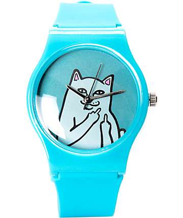 RIPNDIP Lord Nermal Blue Analog Watch