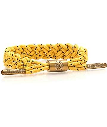 Rastaclat Bollard Yellow & Black Bracelet