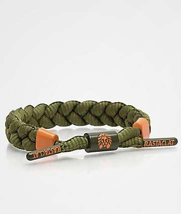 Rastaclat Classic Westly Olive & Orange Bracelet