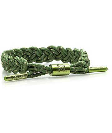 Rastaclat Cornice Green & Tan Bracelet