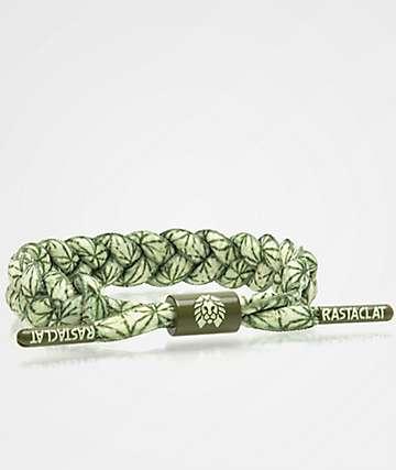 Rastaclat Moki Classic Green & White Bracelet