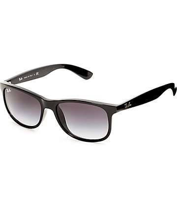 Ray-Ban Andy Black Gradient Sunglasses