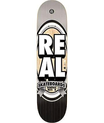 "Real Renewal Stacked LG 8.06"" Skateboard Deck"