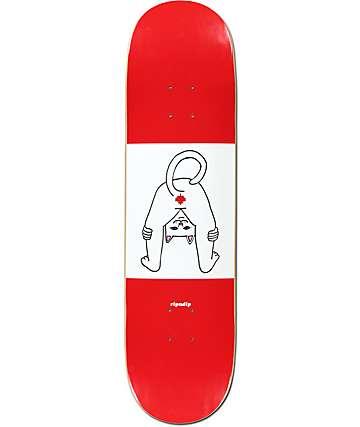 "RipNDip Canada Stinks 8.0"" Skateboard Deck"