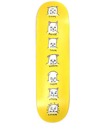 "RipNDip Caturdays 8.25"" Skateboard Deck"
