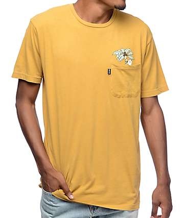 RipNDip Jungle Nermal Tan Pocket T-Shirt
