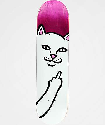 "RipNDip Lord Nermal 8.0"" Skateboard Deck"