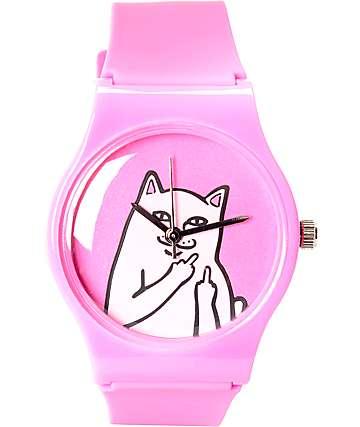 RipNDip Lord Nermal Pink Analog Watch