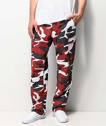 Rothco BDU Tactical Red Camo Cargo Pants