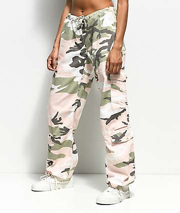 Rothco Pink & Green Camo Vintage Fatigue Pants