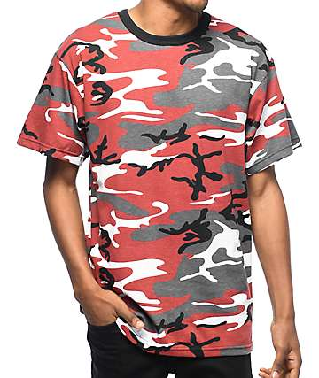 Rothco Red Camo T-Shirt