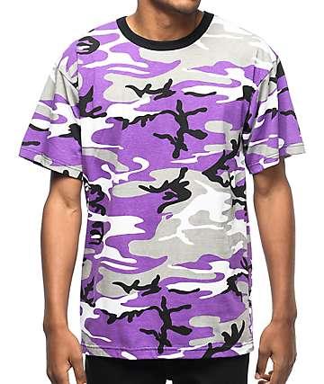 Rothco Ultra Violet Camo T-Shirt