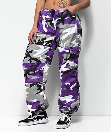 Rothco Ultra Violet Camo Vintage Fatigue Pants