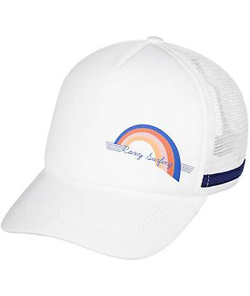 Roxy Dig This White Trucker Hat