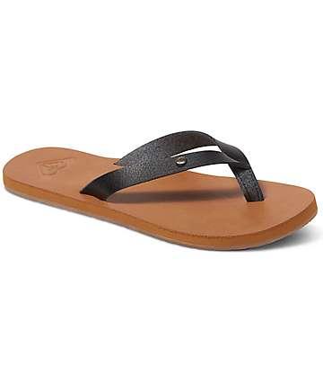 Roxy Jyll Black Sandals