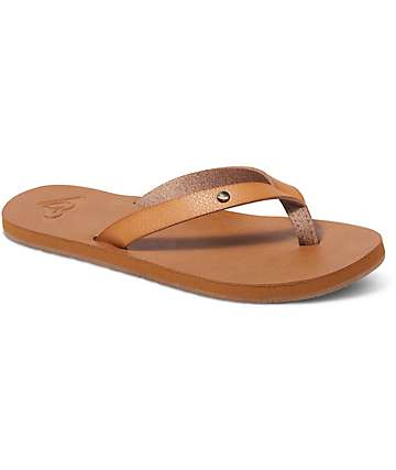 Roxy Jyll Tan Sandals
