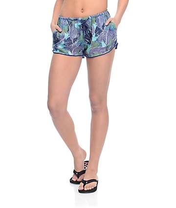 Roxy Mystic Topaz Blue Depths Soft Shorts