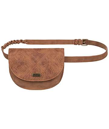 Roxy Within You Camel Faux Leather Fanny Pack
