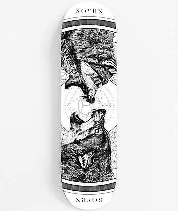 """SOVRN Geri & Freki 8.18"""" Skateboard Deck"""