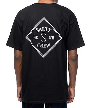 Salty Crew Tippet Black T-Shirt