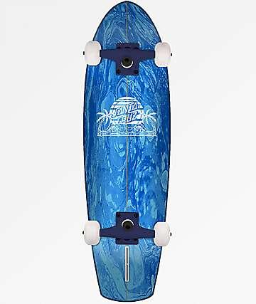 "Santa Cruz A Frame Street Shark 31"" Cruiser Complete Skateboard"
